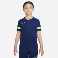 Игровая футболка с коротким рукавом для школьников Nike Dri-FIT Academy - Синий