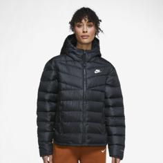 Женская куртка Nike Sportswear Therma-FIT Repel Windrunner - Черный