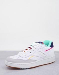 Белые кроссовки Reebok BB 4000-Белый
