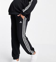 Черные брюки свободного кроя adidas Training Maternity-Черный цвет