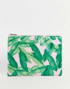 Чехол для ноутбука с банановыми листьями Skinnydip Banana Palm-Разноцветный