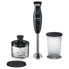 Блендер погружной 600 Вт, стакан, измельчитель, Bosch, MSM 2620 B, черный