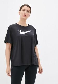 Футболка спортивная Nike W NK DF SWSH RUN TOP SS PLUS