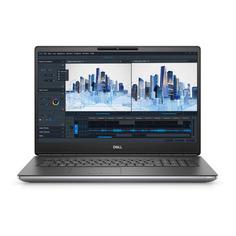 "Ноутбук Dell Precision 7760, 17.3"", Intel Core i7 11850H 2.5ГГц, 32ГБ, 1ТБ SSD, Windows 10 Professional, 7760-7401, серый"