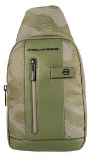 Рюкзак Piquadro Brief2 CA4536BR2/CAMOREFVE (зеленый)