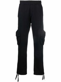 Off-White спортивные брюки карго с логотипом Arrows