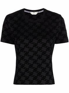 Fendi футболка с монограммой