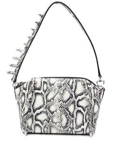 Givenchy сумка на плечо со змеиным принтом и заклепками