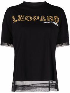 Just Cavalli футболка с надписью