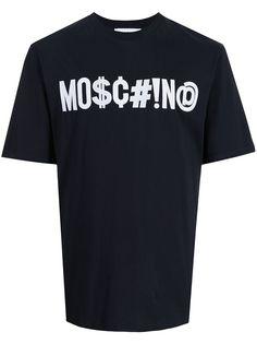 Moschino футболка с логотипом