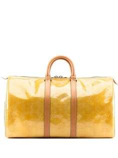 Louis Vuitton дорожная сумка Vernis Mercer 1990-х годов с монограммой