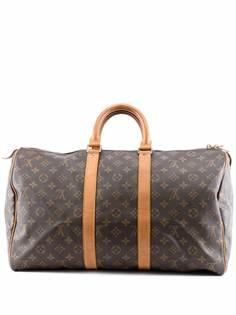 Louis Vuitton дорожная сумка Keepall 45 1990-х годов с монограммой