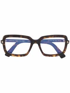 TOM FORD Eyewear очки в квадратной оправе