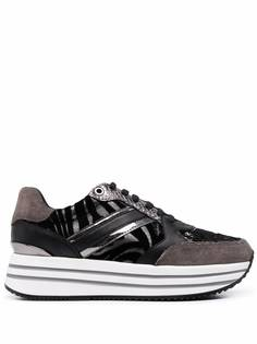 Geox кроссовки Kency на платформе