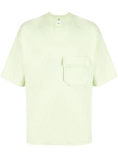 OAMC футболка с нагрудным карманом