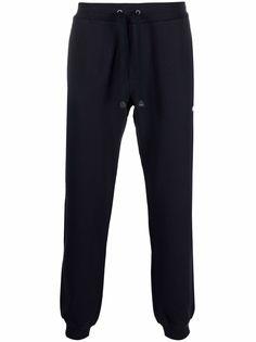 Coach спортивные брюки с нашивкой-логотипом