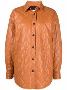MSGM стеганая куртка-рубашка