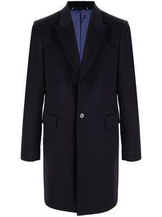 PAUL SMITH двубортное пальто из смесовой шерсти