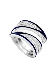 Stephen Webster кольцо Vertigo Infinity из белого золота с бриллиантами