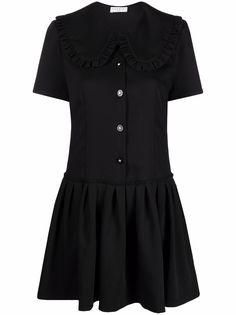 SANDRO платье с воротником Питер Пэн