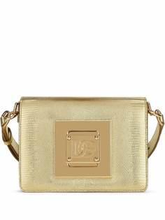 Dolce & Gabbana сумка на плечо с тиснением под кожу ящерицы