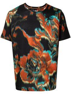 PAUL SMITH футболка с абстрактным принтом