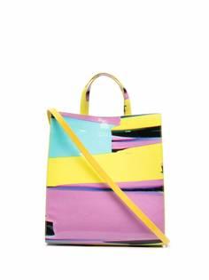 MSGM сумка-тоут в стиле колор-блок