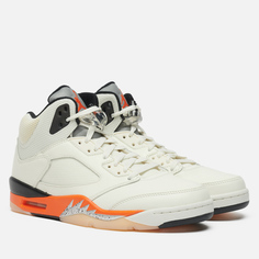 Мужские кроссовки Jordan Air Jordan 5 Retro Shattered Backboard, цвет белый, размер 45.5 EU