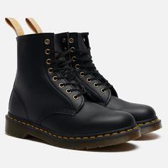 Ботинки Dr. Martens 1460 Vegan Felix Rub-Off, цвет чёрный, размер 46 EU