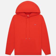 Женская толстовка Levis Standard Hoodie, цвет красный, размер M