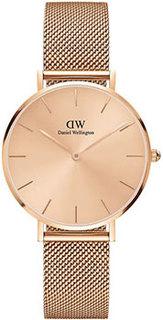 fashion наручные женские часы Daniel Wellington DW00100471. Коллекция Petite Unitone