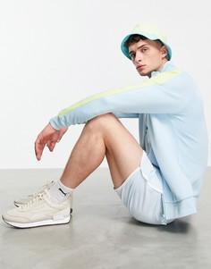 Голубая куртка Puma Summer Luxe T7-Голубой