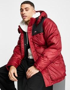 Красная куртка-парка Levis-Красный