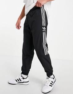 Черные джоггеры adidas Originals adicolor Lock Up-Черный цвет