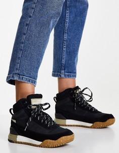 Черные кожаные ботинки The North Face Back To Berkley III-Черный цвет