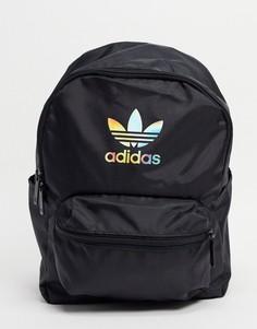 Маленький классический черный рюкзак adidas Originals