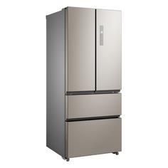 Холодильник Бирюса FD 431 I, трехкамерный, нержавеющая сталь