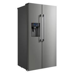 Холодильник Бирюса SBS 573 I, двухкамерный, нержавеющая сталь