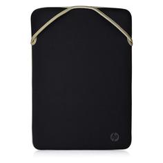 """Чехол для ноутбука 14"""" HP Protective Reversible Slv, черный/золотистый [2f1x3aa]"""