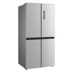 Холодильник Бирюса CD 492 I, трехкамерный, нержавеющая сталь