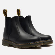 Ботинки Dr. Martens 2976 Slip Resistant Leather, цвет чёрный, размер 45 EU