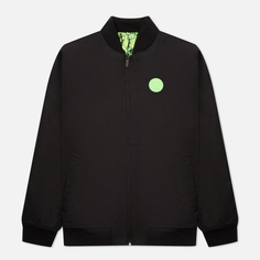 Мужская куртка бомбер Puma x Santa Cruz Varsity, цвет чёрный, размер XL