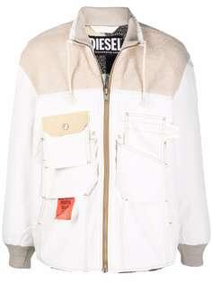 Diesel куртка с накладными карманами