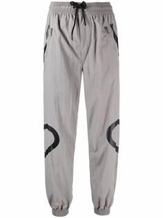 adidas by Stella McCartney спортивные брюки с принтом