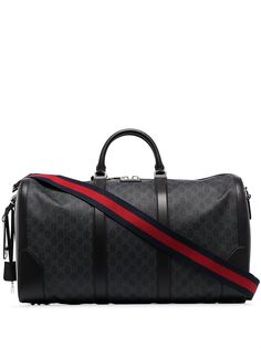 Gucci дорожная сумка с узором GG Supreme