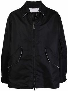 Valentino куртка-рубашка на молнии
