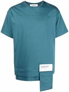 AMBUSH футболка с логотипом и карманом