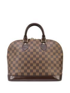 Louis Vuitton сумка Damier Ebène Alma PM pre-owned