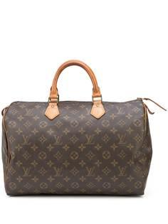 Louis Vuitton дорожная сумка Speedy 35 pre-owned с монограммой