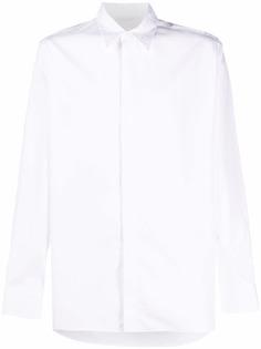 Givenchy рубашка с длинными рукавами